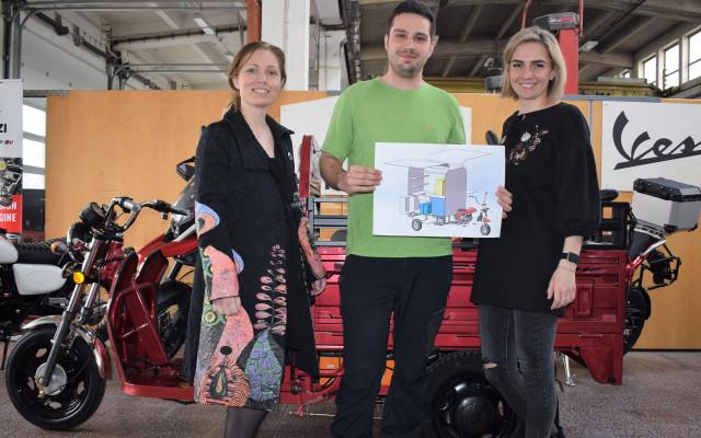 V.I.P. sponzor pojízdné kavárny sociálně terapeutické dílny Radost