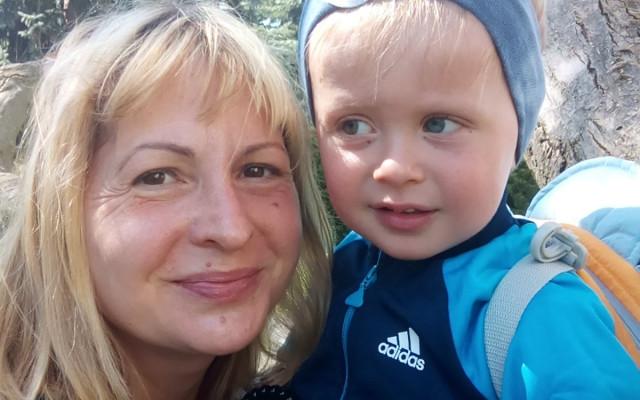 Podpořme maminku samoživitelku a jejího syna Nicoláska Williamka
