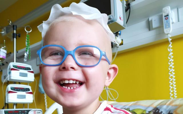 Pomozme onkologicky nemocnému Daníkovi vrátit se do domácího prostředí