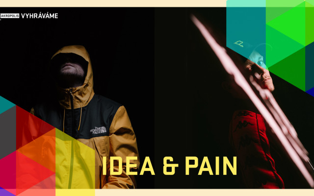 Vyhráváme: Idea + Pain (14. 4. ve 20:00)
