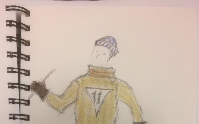 Originální herecký svetr