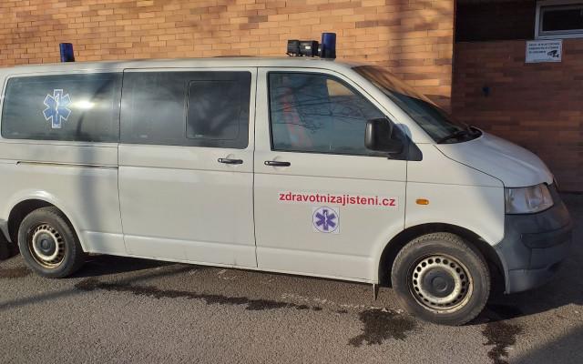 Přispějte na opravu sanitního vozidla dobrovolných zdravotníků