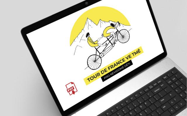 """Deník """"Tour de France ve tmě"""" – elektronický v PDF"""