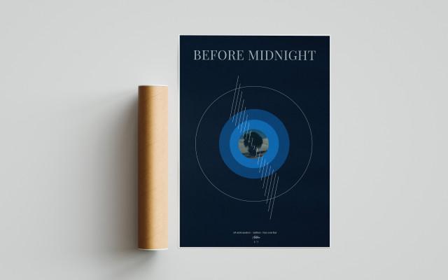 Autorský plakát Before midnight