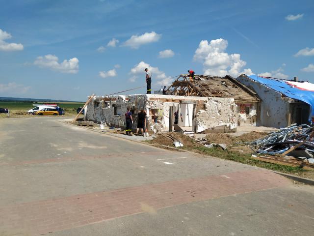 Pomoc pro Pavla Sečkaře, kterému tornádo zničilo domov