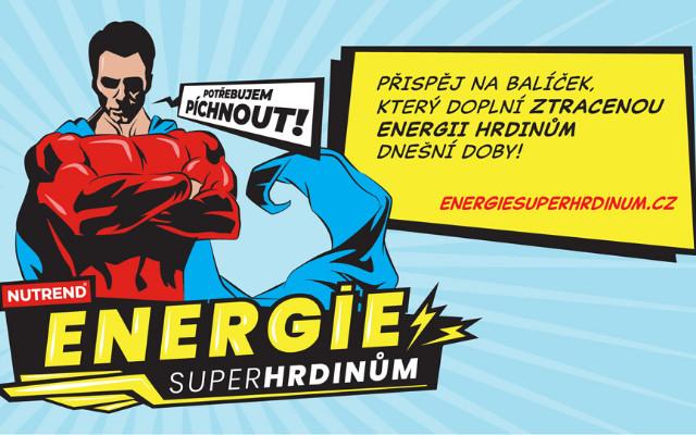 Přispějte na balíček, který doplní energii hrdinům dnešní doby