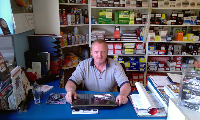 Pomoc servisů Lassa Michalovi Sekyrovi ve Studénce