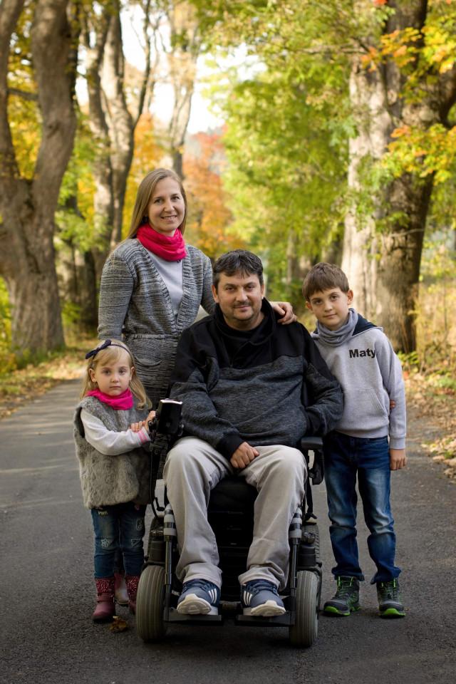 Život jede dál - mechanický vozík pro Štefana