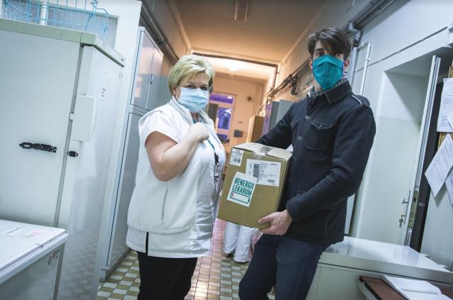 #ENERGIILEKARUM – balíčky pro zdravotnické superhrdiny