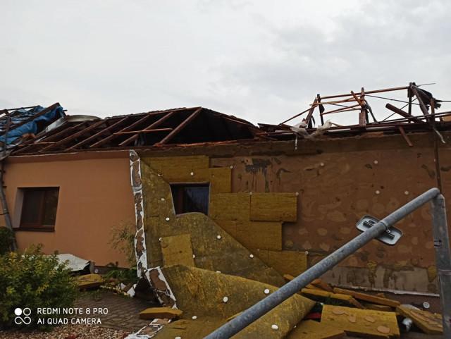 Pomoc pro Bačíkovy, kteří přišli o domov v Hruškách