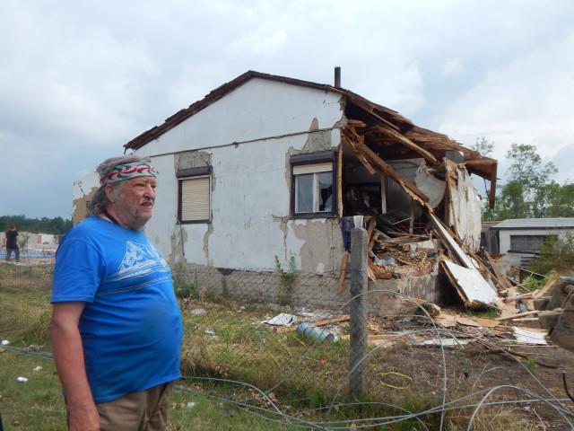 Pomoc pro strejdu Staňu Panáčka, který přišel při tornádu o dům