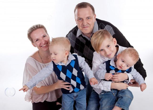 Pro tři malé hasiče – na cestu životem bez tatínka