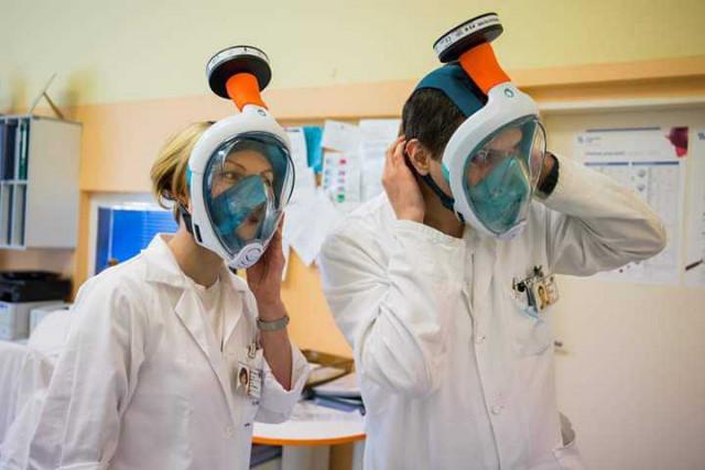 Pořiďme lékařům ochranné masky #darujmasku