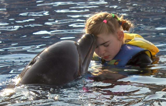 Delfinoterapie pro Johanku