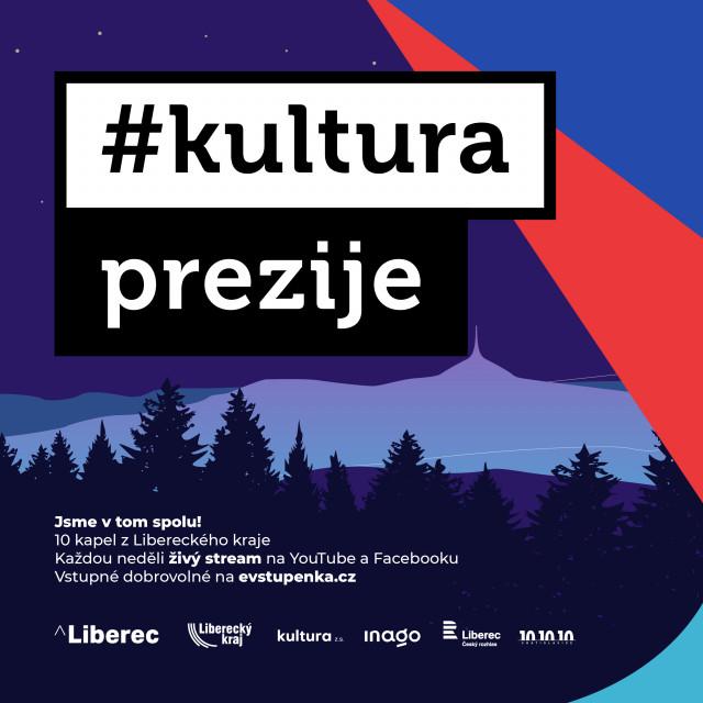 Podpořme společně spolek Kultura, z. s., který se snaží pomoci kultuře vLibereckém kraji #kulturažije
