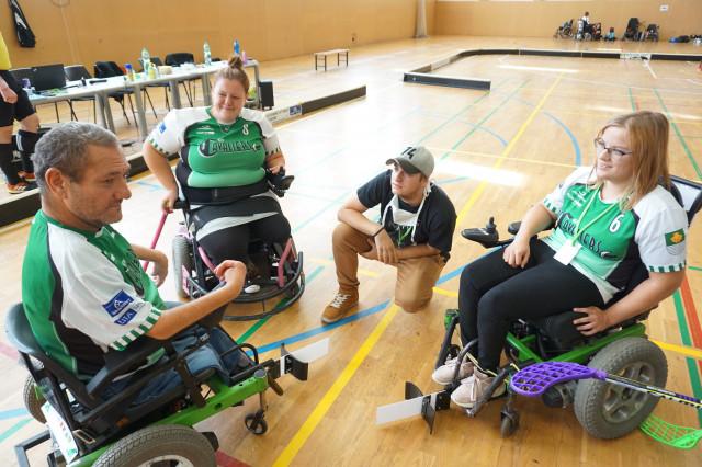 Úprava sportovního vozíku pro Jirku