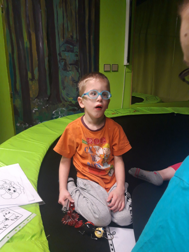 Neurosenzorická terapie pro bojovníka Filípka