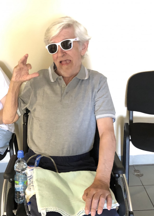 Nový vozík vrátí Pepu zpátky do života