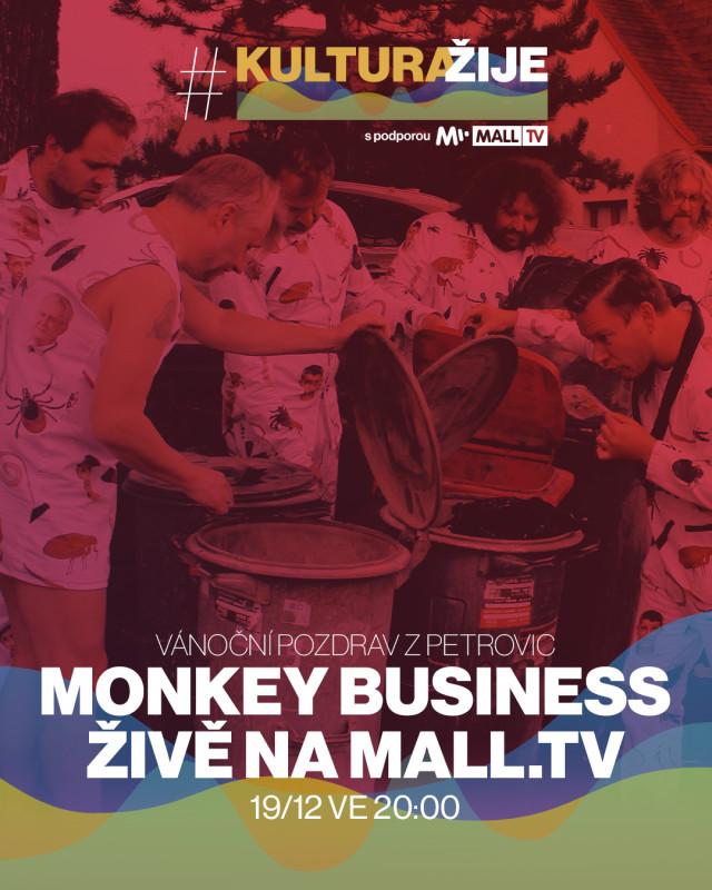 Monkey Business: Vánoční pozdrav z Petrovic #kulturažije