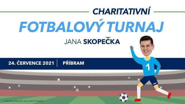 Charitativní turnaj Jana Skopečka v Příbrami