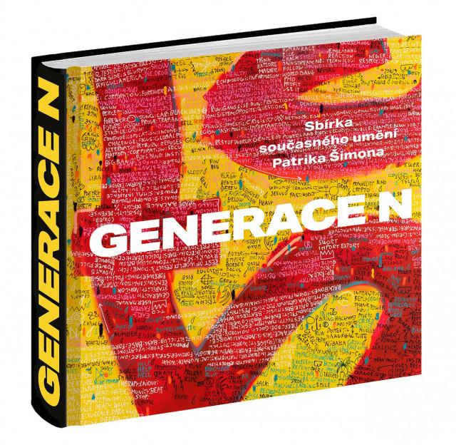 GENERACE N - kniha 88 autorů současného výtvarného umění