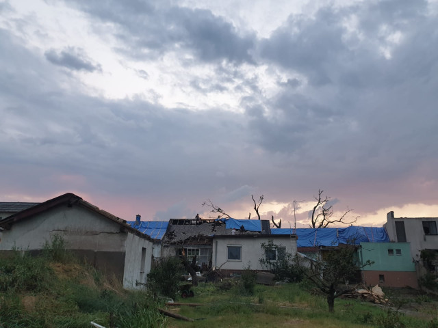 Bartošáci vs. tornado 0:1