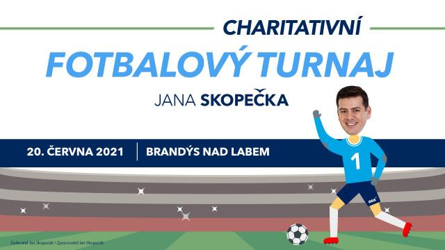 Charitativní fotbalový turnaj Jana Skopečka v Brandýse