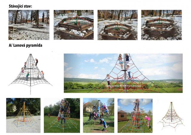 Zemní trampolíny do parku v Českém Brodě