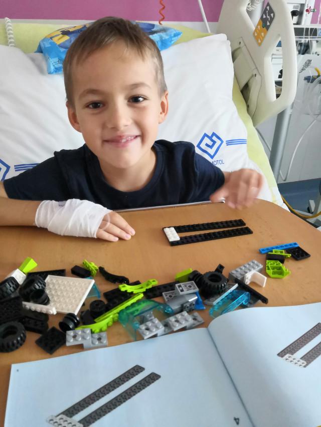 Usnadnili jste Domíkovi život po transplantaci kostní dřeně