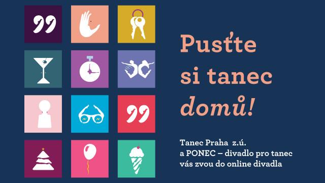 Podpořme společně PONEC – divadlo pro tanec! #kulturažije