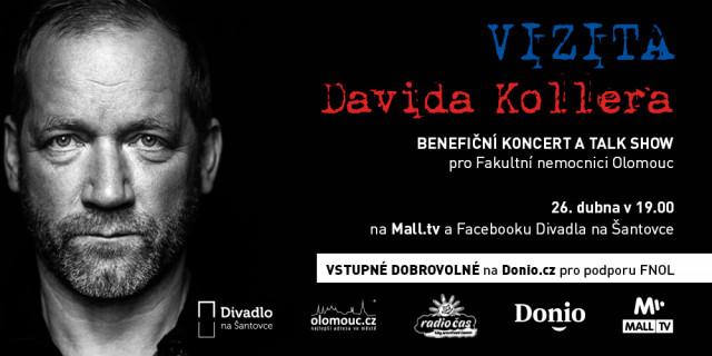 David Koller zahraje pro Fakultní nemocnici Olomouc #kulturažije