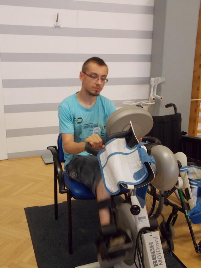 Neurorehabilitace Honzovi pomůže k chůzi