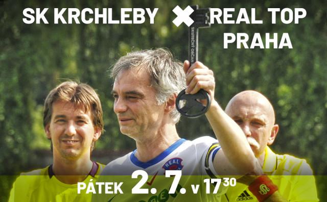 REAL TOP PRAHA vs. SK Krchleby pro Pomocné tlapky o.p.s.