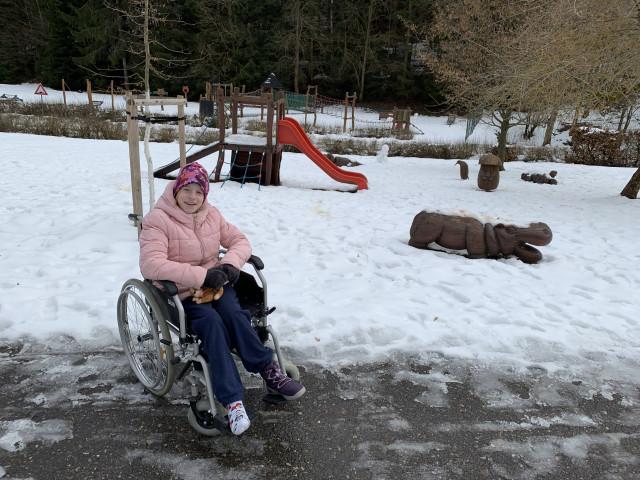 Složili jste se na rehabilitační chodící pás pro Vanesku