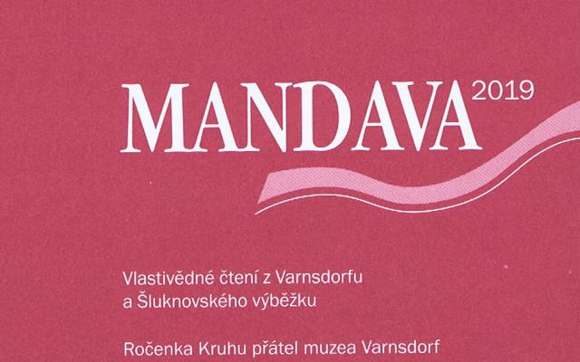 vlastivědný sborník Mandava 2021 + 2 starší sborníky Mandava dle výběru
