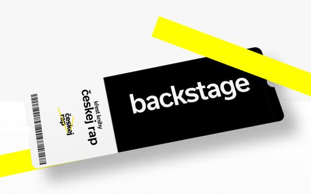 Chci backstage vstupenku na křest