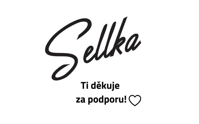 Chci Sellku podpořit + poděkování na webu