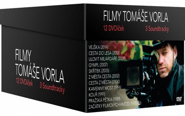 DVD box podepsaný Tomášem Vorlem
