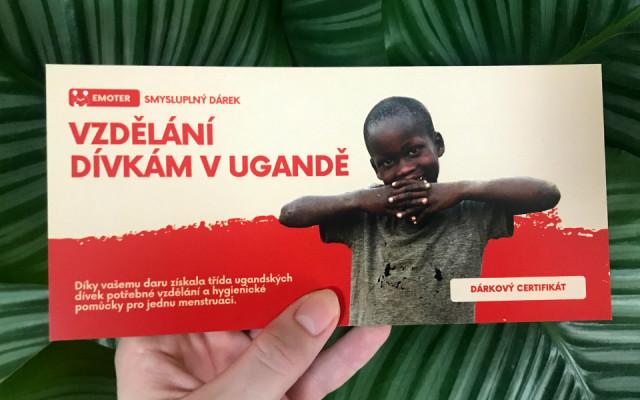 Vzdělání dívkám v Ugandě