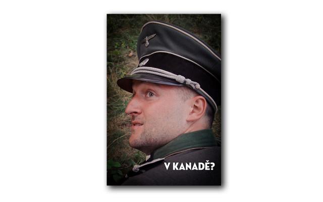 Podepsaná samolepka Hans