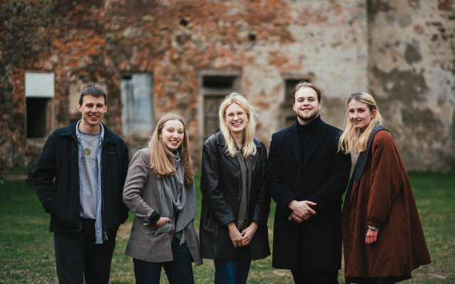 M&G s organizátory v Praze