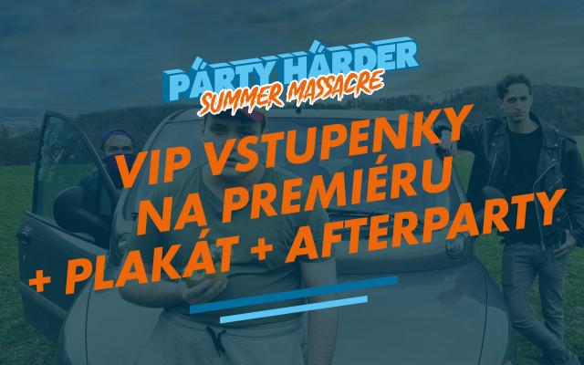 VIP vstupenky na premiéru + plakát + afterparty