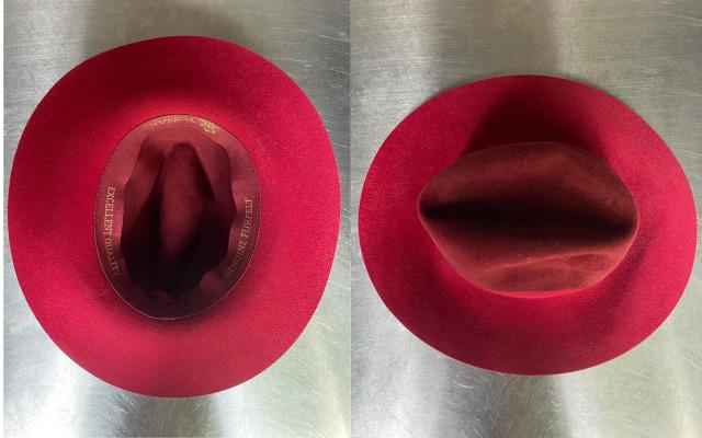Dámský plstěný klobouk Tonak věnovaný od Katky Říhové z Ranní show Evropy 2