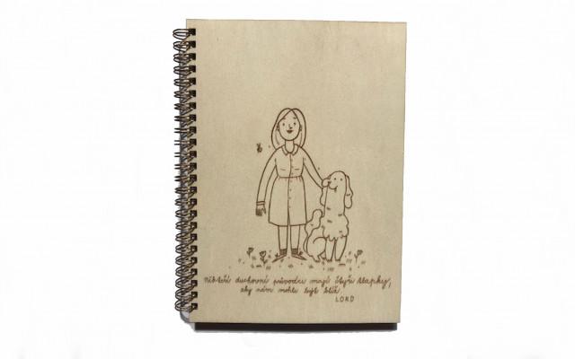 Kniha Lord a dřevěný blok