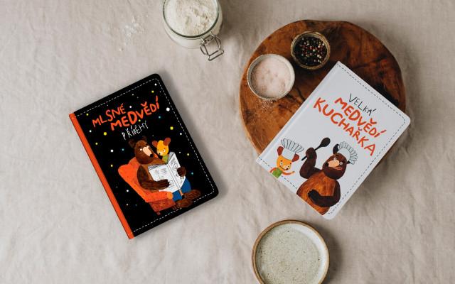 Kuchařka & pohádková knížka Mlsné medvědí příběhy
