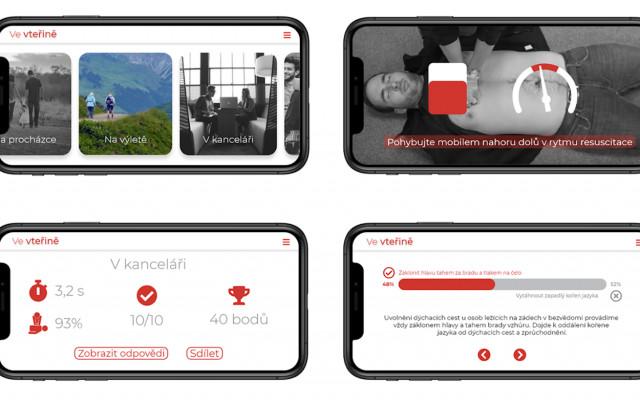 Webinář o maskování zranění a aplikace Ve vteřině