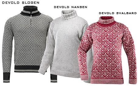 Norské svetry Devold včetně poštovného