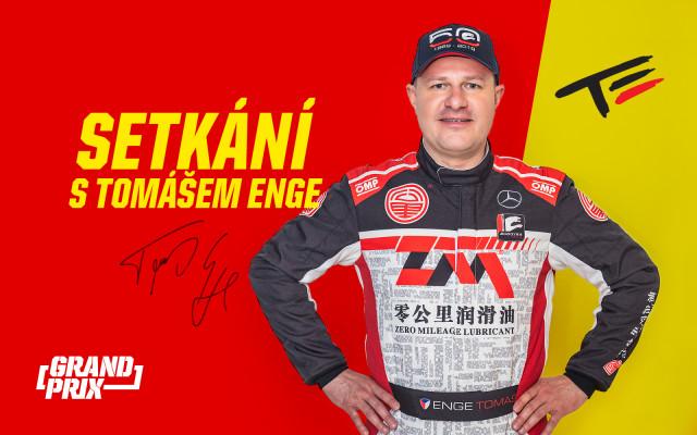 Setkání s automobilovým závodníkem Tomášem Engem