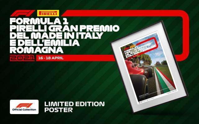 Sběratelský plakát Formule 1 – limitovaná edice