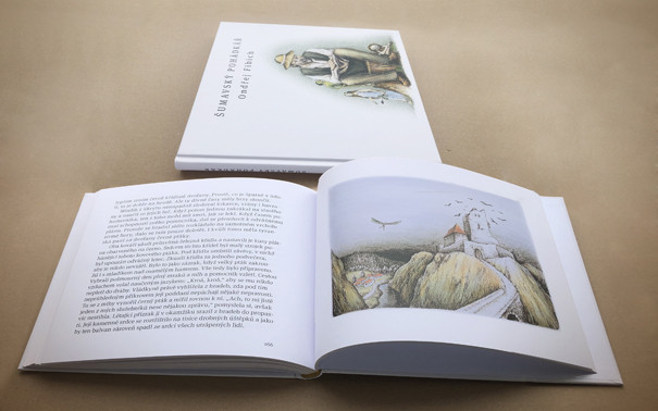 Pohádková kniha Ondřeje Fibicha i s podpisem